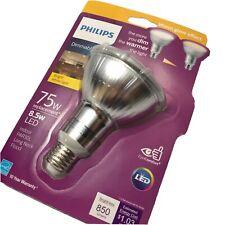 Philips LED Dimmable Long Neck Flood Light Bulb PAR30L 850-Lumen Bright White