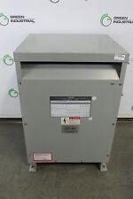 30 Kva Dry Type Transformer Hv 480 Delta Lv 208 Y / 120 Siemens Cat 3F3Y030Fes