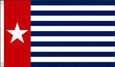 WEST PAPUA FLAG 5' x 3' Western New Guinea Papa Guinean Flags