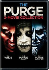 The Purge: 3-Movie Collection (DVD, 2016, 3-Disc Set) BRAND NEW SEALED