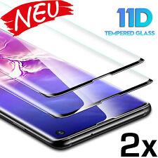 2x Panzerfolie für Samsung Galaxy S10 S10 Plus S10e Full Cover Echt Glas Schutz