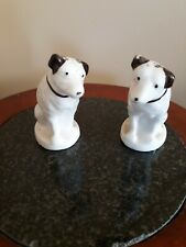 RCA VICTOR NIPPER THE DOG SALT & PEPPER SHAKERS PAIR Rare Vintage