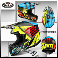 CASCO CROSS ENDURO MOTARD AIROH TWIST STRANGE BLUE GLOSS TAGLIA L (59-60)
