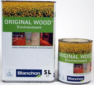 Blanchon Original Wood Environment - Waterbased Floor Oil