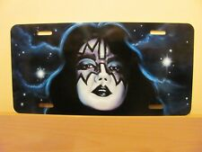 KISS - CUSTOM AIRBRUSHED AMERICAN STYLE LICENCE PLATE SPACE ACE FREHLEY
