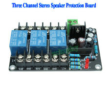 Assembled UPC1237 2.1 Three Channel Stereo Speaker Protection Board AC 12V-15V