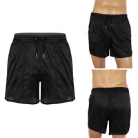 Men Quickly Dry Summer Swim Trunks Drawstring Quick Dry Beachshorts Board Shorts