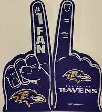 NFL Foam Finger, Baltimore Ravens, NEW