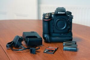 Nikon D810 36.3MP Full-Frame DSLR Digital Camera with Battery Grip & CF cards