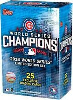 MLB 2016 Chicago Cubs World Series Championship Set