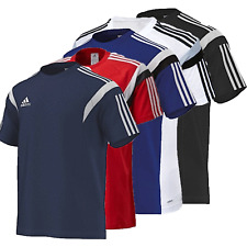 Adidas Con.14 Tee Training Shirt Fußball Blau, Rot, Navy, Schwarz Neu! OVP