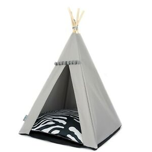 Cat Teepee bed - Zebra, cat bed including pillow*luxury cat house*cat tent