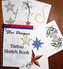 Tattoo Star Design Sketch Book. Great New Drawings!