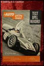 AMS Auto Motor Sport 20/60 Opel Rekord 1,5 Jack Brabham