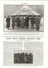 1915 Military Attaches Allied Nations Yurt Eastern Front Carpathians