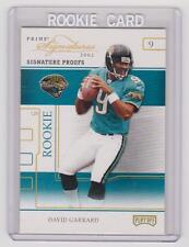 DAVID GARRARD Jaguars 2002 Playoff Prime Signatures Rookie PROOF #19/25 SP RC !!