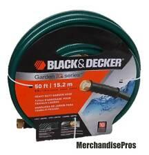 Black & Decker 50' Heavy Duty Garden Hose New!