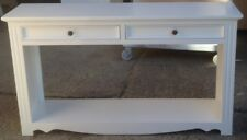 Sofa Table ,Anzac style, with drawers WHITE