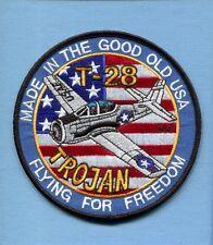 T-28 TROJAN NAA NORTH AMERICAN AVIATION USAF ATC Training Squadron Jacket Patch