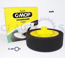 """12x Farecla G Mop Black Standard 150mm Polish Finishing Head 14mm Sponge Foam 6"""""""