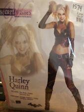 Adult Harley Quinn Batman Arkham City Costume Large  #178