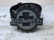 LAIBACH  rare 3D official belt (leather)   Death in June