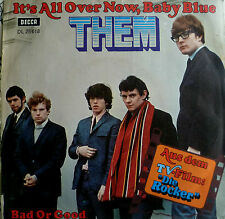 "7"" 1972 OST RAR MINT-? THEM It´s All Over Now Baby Blue"