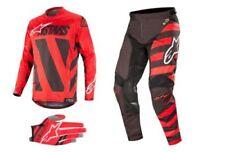 Kits et combinaisons rouges Alpinestars pour cross