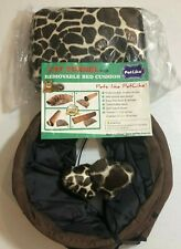 New listing Pet Like Cat Tunnel With Removable Bed Cushion Pet New Bj