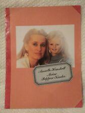 """1987-88 Annette Himstedt """"Meine Puppen-Kinder"""" Doll Guidebook - In German"""