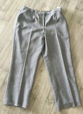 Women's KATE Classic Fit Nipon Boutique Lined Gray Pants Size 16W