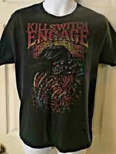 KILLSWITCH ENGAGE - GUTS T-SHIRT Sz Medium Distressed