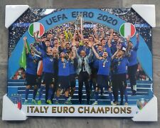 Team Italy Euro Cup 2020/2021 Championship Poster [Plakmount/Laminated]