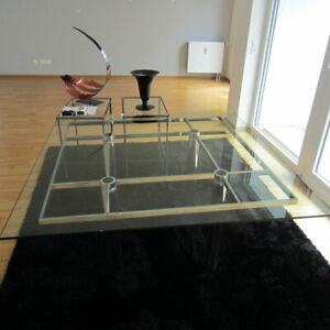 Designer Esstisch, Arbeitstisch Knoll International Andre 136x136 cm