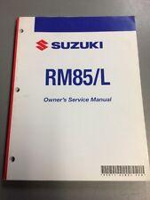 Suzuki Service Manual Repair RM85/L 2008 Model
