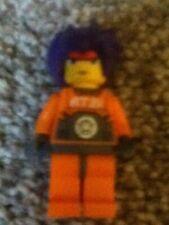 LEGO Minifigure - EXF007 - Exo Force - Ryo - Purple Hair, Headband