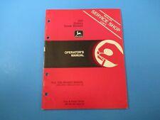 John Deere Operators Manual Om-A41196 260 Rotary Snow Blower Issue E0 M5105