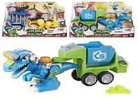 Playskool Heroes Chomp Squad Officer Lockup Raptor Compactor Ages 3+ Dinosaur