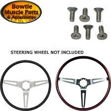 Mounting Screws For Comfort Grip Wood Steering Wheel Camaro Impala Nova Chevelle