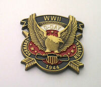 WWII D-DAY 1944 NORMANDY INVAS..World War II Military Veteran Hat Pin P15784 EE
