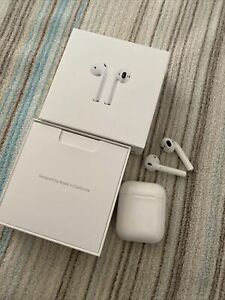 Apple AirPods 1. Generation MMEF2ZM/A Bluetooth Nur-im-Ohr Kopfhörer - Weiß