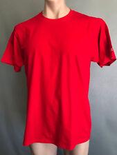BNWOT Mens Sz 2XL Champion Brand Red Stretch Short Sleeve T Shirt Tee Top