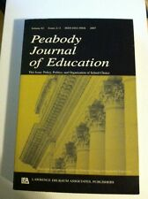 Contemporary School Choice Research Policy Pje V82 23 (2007, Paperback)