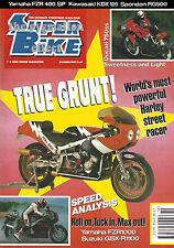 Yamaha FZR400RR Spondon YZR500 Kevin Schwantz Ducati 750SS GSX-R100 FZR1000 EXUP