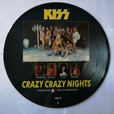 "Kiss- Crazy Crazy Nights.12"" Picture Disc. EX"