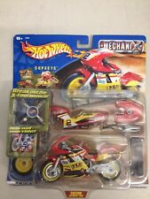 NEW 2001 Hot Wheels Mechanix SUPACYC Set NIB Custom Superbike Shop Vintage