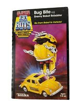 Vintage Super Gobots Yellow Bug Bite Robot Tonka Transformer Mint In Box