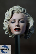 "1:6 Scale Marilyn Monroe Head Sculpt Painted For 12""  Female Phicen Figure Body"