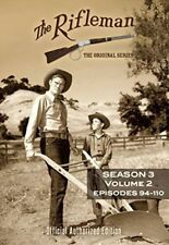 The Rifleman: Season 3 Volume 2 (Episdoes 94 - 110) [New DVD] 3 Pack