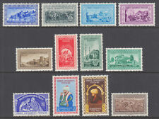 Turkey Sc 1090-1101 MLH. 1953 Conquest of Constantinople, complete set, VF